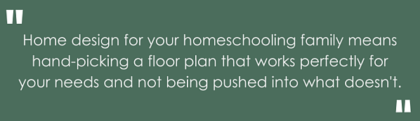 Highlighted text, home design for your homeschooling family